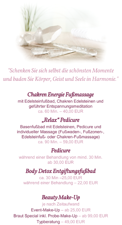 Relax & Care Treatments by Sabine Bauer 2