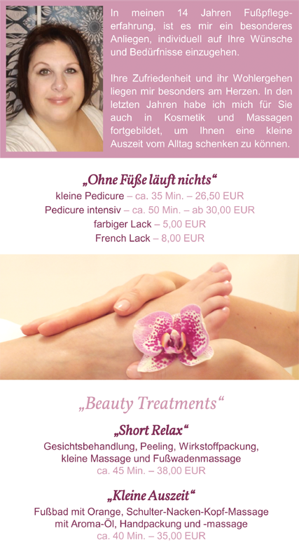 Relax & Care Treatments by Steffi Färber